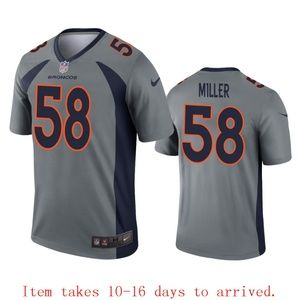 Denver Broncos Von Miller Jersey Inverted